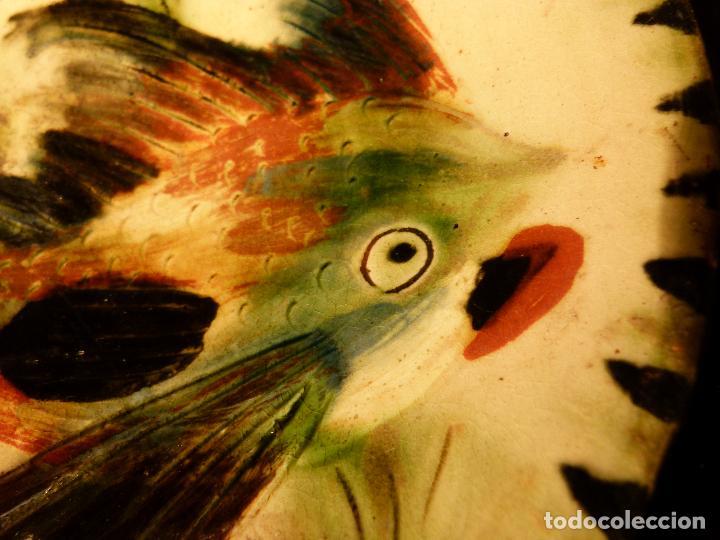 Antigüedades: PLATO DE CERAMICA DE LA BISBAL FIRMADO PUIGDEMONT - Foto 3 - 131140728