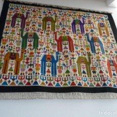 Antigüedades: TAPIZ EGIPCIO ORIGINAL. Lote 131146820