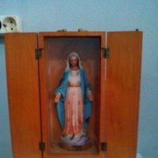 Antigüedades: CAPILLA LIMOSNERA VIRGEN DE LA MILAGROSA. Lote 131189676