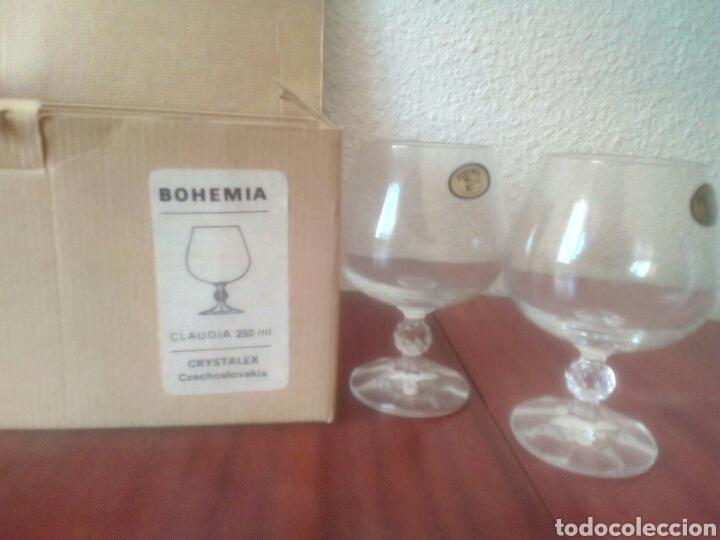 6 COPAS CRISTAL DE BOHEMIA SIN ESTRENAR (Antigüedades - Cristal y Vidrio - Bohemia)
