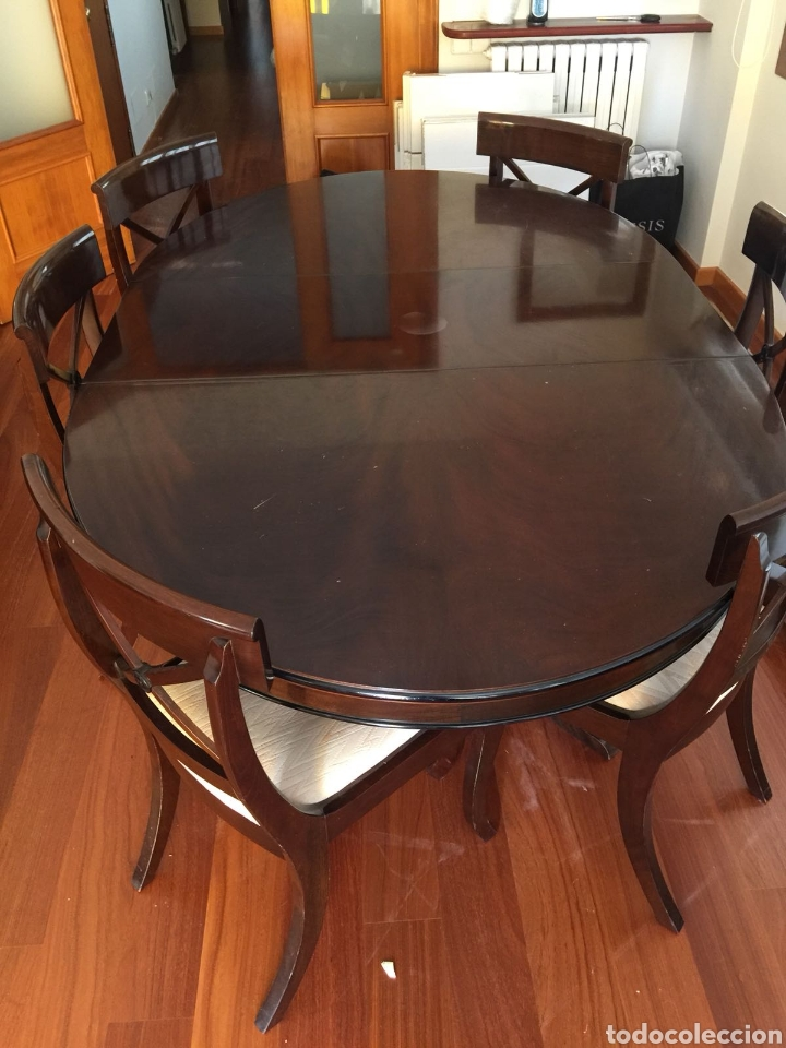 mesa y sillas comedor - Buy Antique Tables at todocoleccion - 131200367