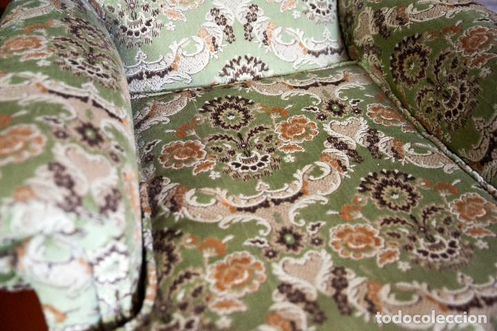 Antigüedades: robusta pareja de sillones antiguos - Foto 2 - 131235771