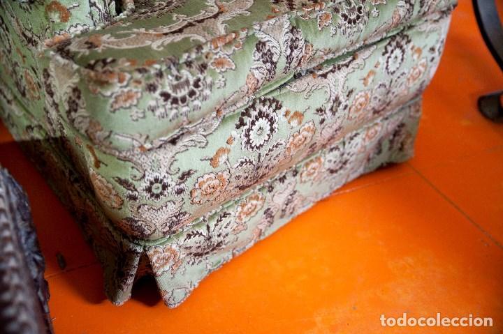 Antigüedades: robusta pareja de sillones antiguos - Foto 3 - 131235771