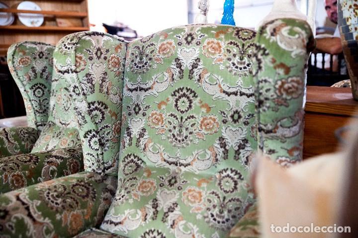 Antigüedades: robusta pareja de sillones antiguos - Foto 5 - 131235771