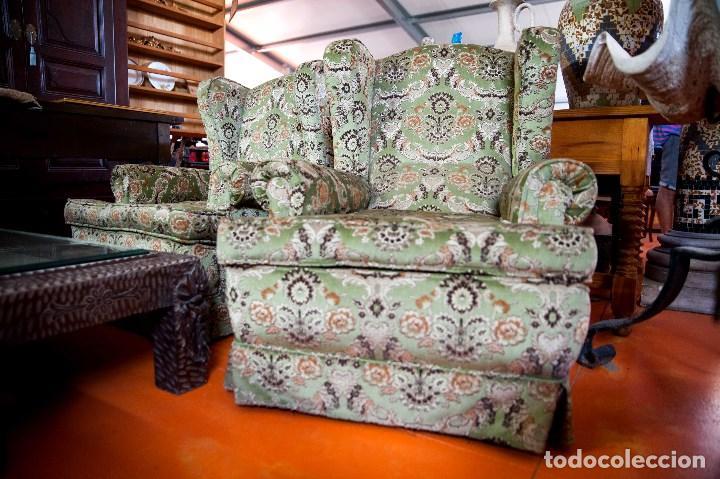 Antigüedades: robusta pareja de sillones antiguos - Foto 6 - 131235771