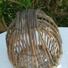 Antigüedades: JAULA PERDIZ ANTIGUA. Lote 131251923