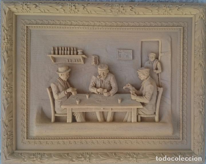 RESINA SIN DECORAR ENMARCADA (Antigüedades - Hogar y Decoración - Otros)