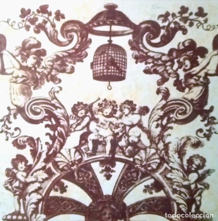 Antigüedades: REPRODUCCIÓN DE GRIEKSCHE A (DELFT) EN CERÁMICA, PLACA DEL HAMPTON COURT PALACE- MEDIDA 48 x 48 cm. - Foto 2 - 131290087