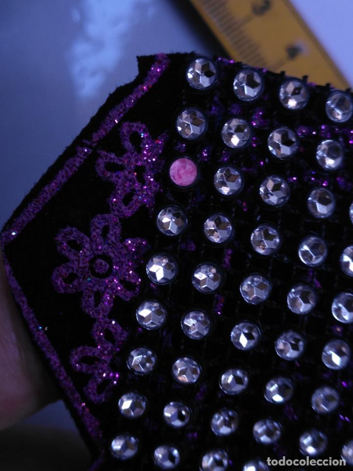 Antigüedades: antigua aplicacion galon trozo para decorar ropa customizar virgen muñecas fajin etc leer - Foto 6 - 131293367
