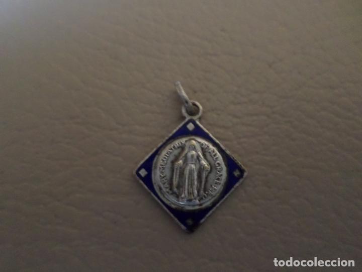 MEDALLA VIRGEN PS MARY MEDIATRIY (Antigüedades - Religiosas - Medallas Antiguas)