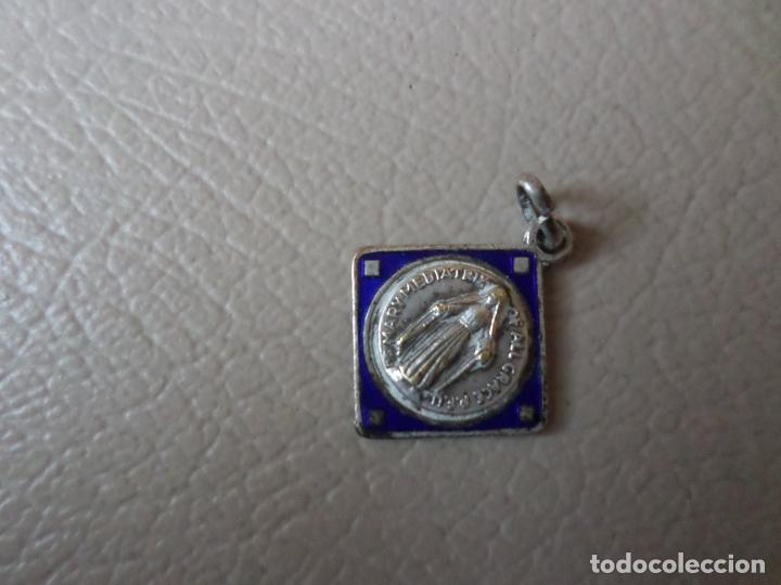 Antigüedades: MEDALLA VIRGEN PS MARY MEDIATRIY - Foto 3 - 131297731