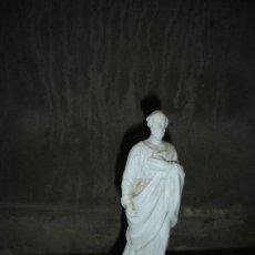 Antigüedades: ESTATUILLA EN BISCUIT DE S. JOSE SIGLO XIX. Lote 131297567
