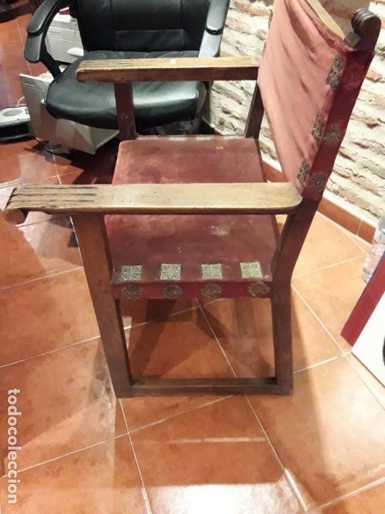 Antigüedades: Sillón frailero - Foto 4 - 130971288