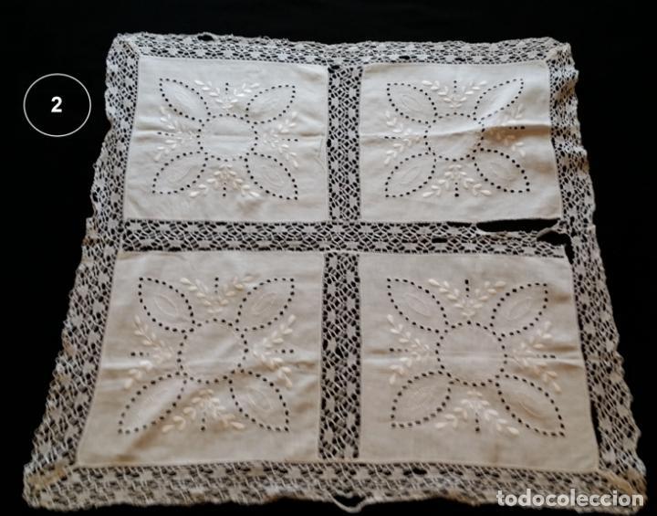 Antigüedades: Dos antiguos manteles bordados - modernistas - Foto 9 - 131324158