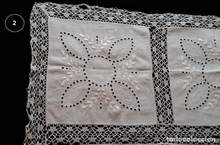 Antigüedades: Dos antiguos manteles bordados - modernistas - Foto 10 - 131324158