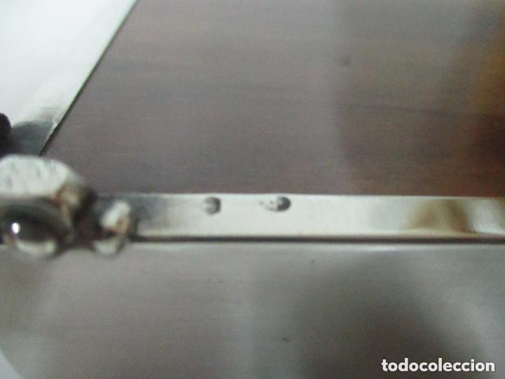 Antigüedades: Caja joyero plata de ley - Foto 8 - 131330290