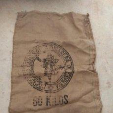 Antigüedades: ANTIGUO SACO DE AZÚCAR - 60 KILOS - SOCIEDAD GENERAL AZUCARERA DE ESPAÑA -. Lote 192503903