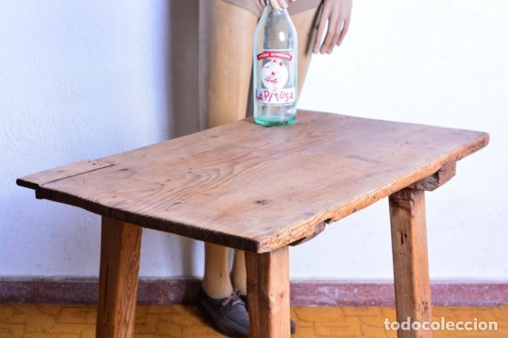 Antigüedades: Mesa tocinera de madera - Antigua mesa matancera - Estilo rústico, casa pueblo, rural - Foto 7 - 45696974