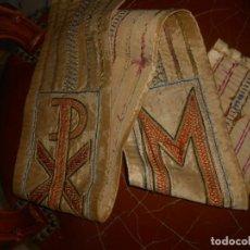Antigüedades: ESTOLA ANTIGUA BORDADA. Lote 211475022