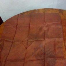 Antigüedades: ANTIGUO PAÑUELO DE SEDA. Lote 131382757