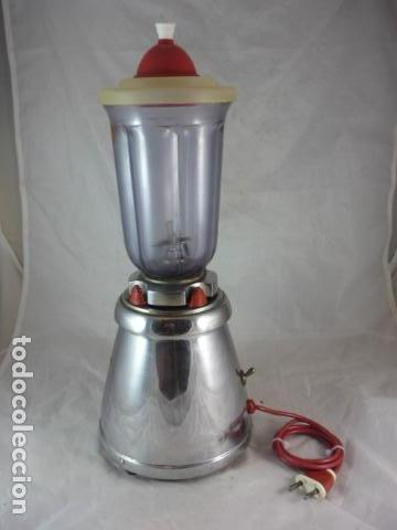 Antigüedades: Batidora Berrens 125V - Tipo AC - Nº892 - Funciona - Foto 2 - 131388702