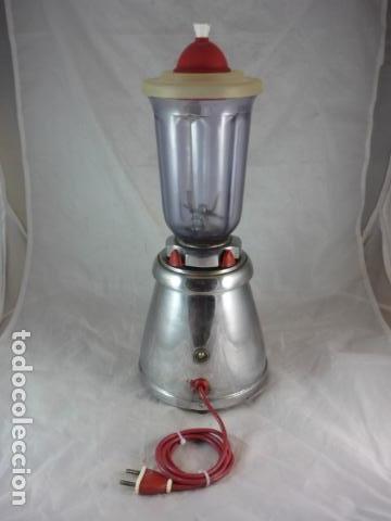 Antigüedades: Batidora Berrens 125V - Tipo AC - Nº892 - Funciona - Foto 4 - 131388702