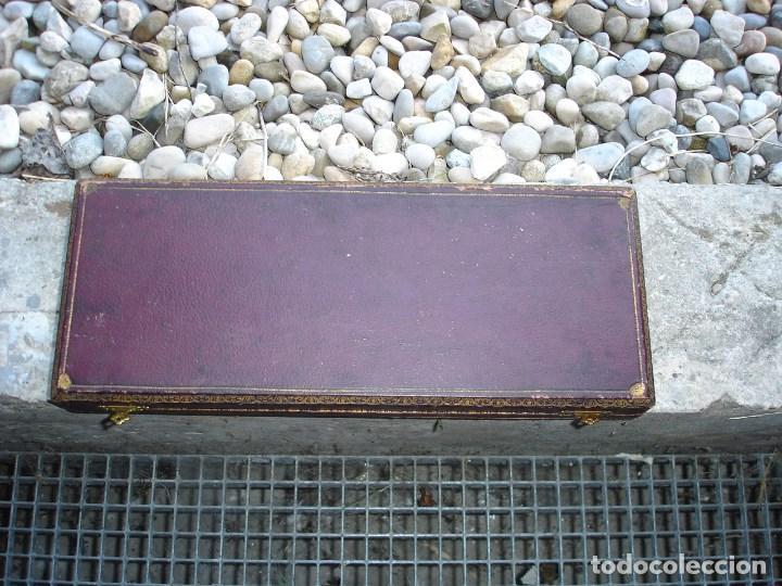 Antigüedades: bonito trinchador de carne en plata siglo XIX napoleon III - Foto 3 - 131395922