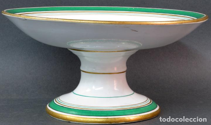FRUTERO EN CERÁMICA PICKMAN LA CARTUJA HACIA 1930 (Antigüedades - Porcelanas y Cerámicas - La Cartuja Pickman)