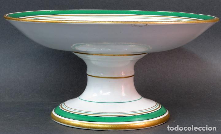 Antigüedades: Frutero en cerámica Pickman La cartuja hacia 1930 - Foto 2 - 131421538
