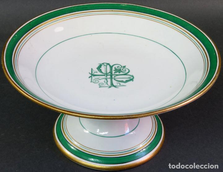 Antigüedades: Frutero en cerámica Pickman La cartuja hacia 1930 - Foto 3 - 131421538
