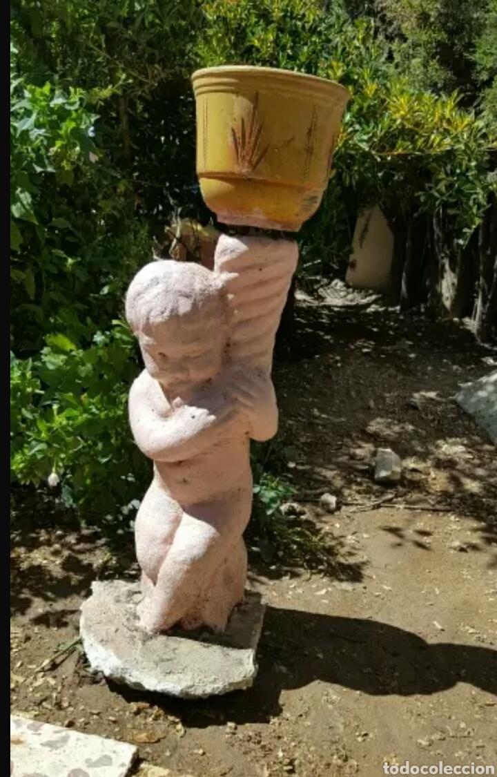 Escultura Jardin Comprar Figuras Antiguas En Todocoleccion 131429627 - Escultura-jardin