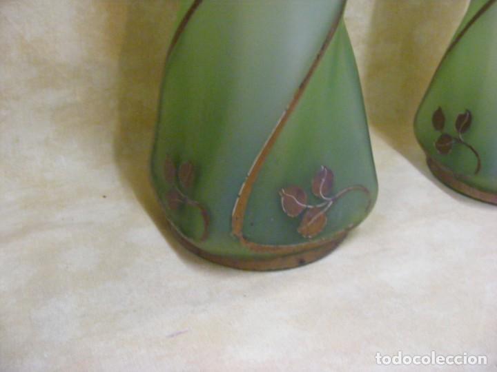 Antigüedades: JARRONES FRANCESES ART NOUVEAU - Foto 6 - 131430946