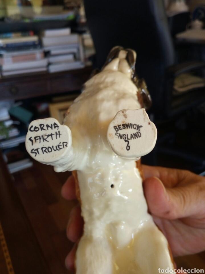 Antigüedades: Perro porcelana Beswick - Foto 3 - 131435371