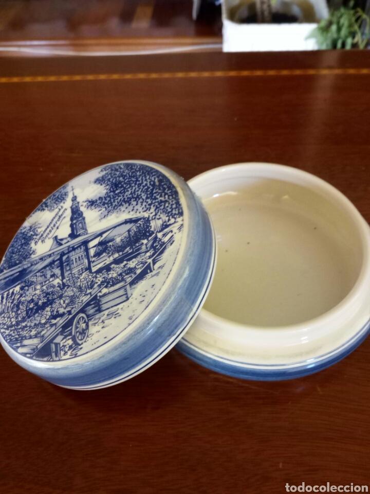 Antigüedades: Joyero porcelana holandesa - Foto 2 - 131446146