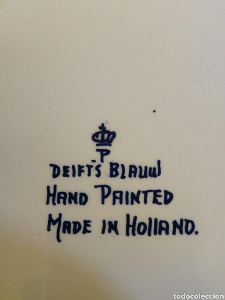 Antigüedades: Joyero porcelana holandesa - Foto 3 - 131446146