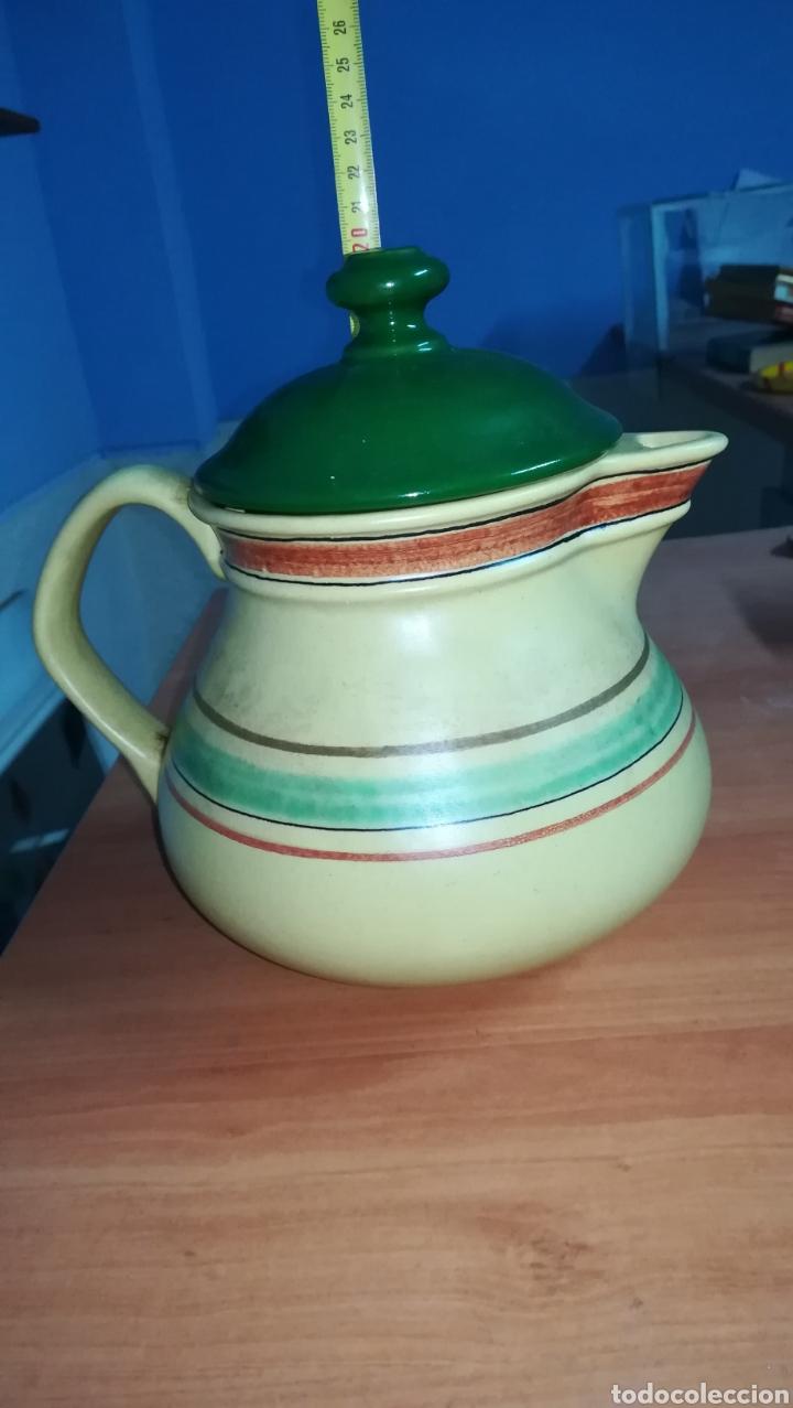 JARRA DE CERAMICA 19 CM ALTA (Antigüedades - Porcelanas y Cerámicas - Otras)