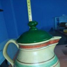 Antigüedades: JARRA DE CERAMICA 19 CM ALTA. Lote 131455613