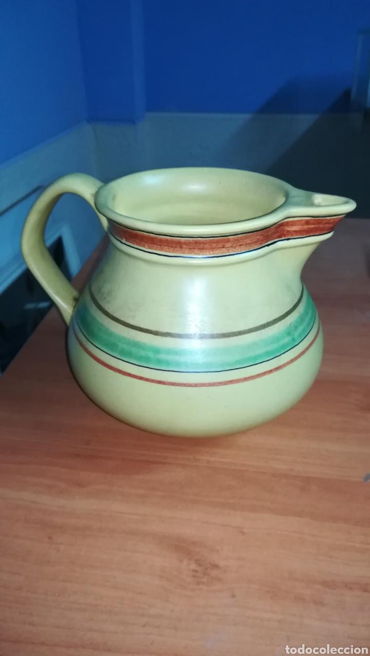 Antigüedades: Jarra de ceramica 19 cm alta - Foto 2 - 131455613