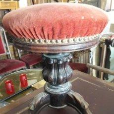 Antigüedades: BANQUETA PIANO SIGLO XIX. Lote 131495490