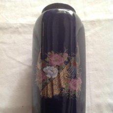 Antigüedades: JARRÓN JAPONES ANTIGUO DE PORCELANA. Lote 131497958