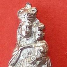 Antigüedades: VIRGEN DEL PILAR DE PLATA S. XIX, MAGNÍFICO TRABAJO DE ORFEBRERÍA. 2.7 CMS DE ALTURA. . Lote 131505002