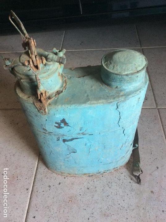 SULFATADORA DE COBRE IRUM ESPAÑA (Antigüedades - Técnicas - Rústicas - Agricultura)