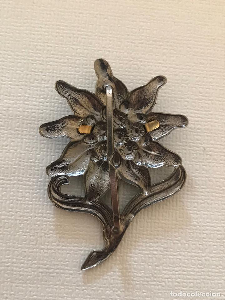 Antigüedades: Insignia de gorra de la Wehrmacht grupo de montaña, Tercer Reich,Hitler, Nazi, SS,SA edelweiss - Foto 2 - 131521702