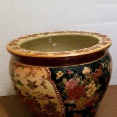 Antigüedades: JARRON SATSUMA MUY ANTIGUO. Lote 131536838