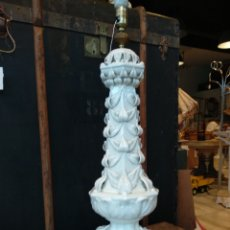 Antigüedades: GRAN LAMPARA BONDIA MANISES 80CM. Lote 131562534