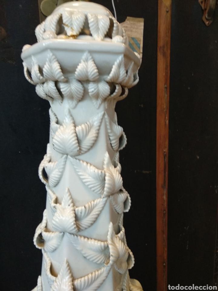 Antigüedades: Gran lampara Bondia manises 80cm - Foto 6 - 131562534