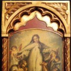 Antigüedades: TABLA VIRGEN MARÍA. Lote 131563190