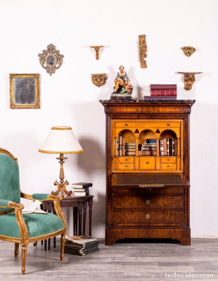 ESCRITORIO ANTIGUO ABATTANT SIGLO XIX (Antigüedades - Muebles Antiguos - Escritorios Antiguos)