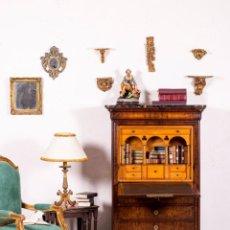 Antiques - Escritorio Antiguo Abattant Siglo XIX - 131638822