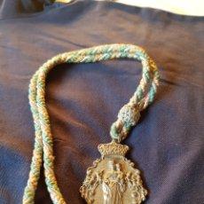 Antigüedades: MEDALLA DE COFRADÍA DE MARÍA AUXILIADORA ALHAMBRA. Lote 131649779
